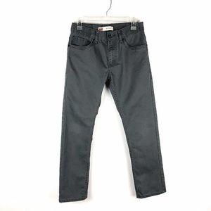 Levi's 511 SLIM Boy's Gray Jeans 16 REG